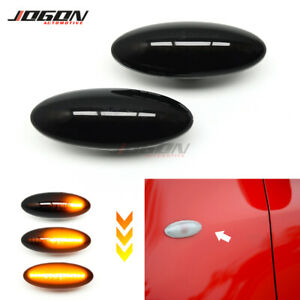 LED Dynamic Fender Marker Light Lamp For Toyota Yaris Vitz XP90 RAV4 MK3 Corolla