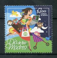 Mexico 2017 MNH Dia de las Madres Mother's Mothers Day 1v Set Stamps