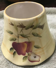 Vintage Home Interiors Candle Shade - Harvest Apple