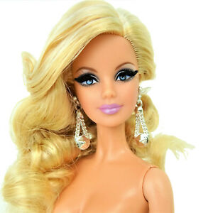 Barbie Model Muse City Shine Blue Dress Doll with Stand