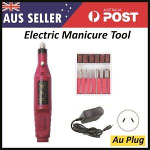 Electric Nail filer Drilling pedicure tool Nail Drill Bits File Tool Machine Acr