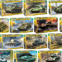 A Toy Model Kit ZVEZDA Battle Tanks Armored Forces WWII Scale 1/35