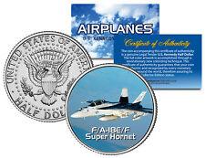 F/A-18E/F SUPER HORNET * Airplane Series * JFK Kennedy Half Dollar US Coin