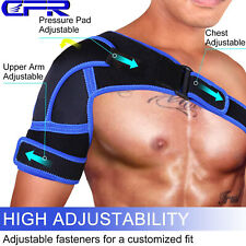 Adjustable Shoulder Support Brace Strap Sport Gym Therapy Arm Joint Bandage Wrap