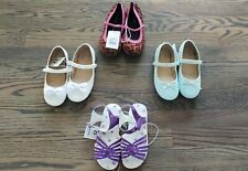 Toddler Girls Size 12 Asst Sandals/Shoes NWT Each Sold Separately