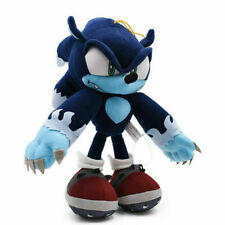 "Sonic The Hedgehog Plush Dark Sonic Soft Toy Doll Teddy Stuffed Animal 12"" Big."