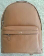 MK RUSSEL LEATHER BACKPACK LUGGAGE BROWN $448