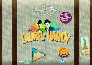 Laurel and Hardy The Feature Film Collection DVD Box Set R4 New Sealed