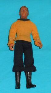 "vintage Mego Star Trek 8"" CAPTAIN KIRK #2 (no accessories, missing insignia)"