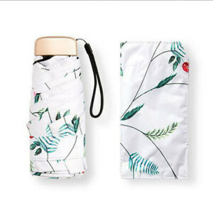 Mini Portable Rain Umbrella Compact 5 Folding Travel Pocket Sun Totes Umbrellas