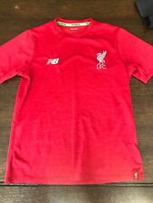 Red New Balance Liverpool Fc Training Shirt