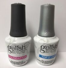 Harmony Gelish Top Base Duo Soak Of Gel For Sale