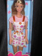 1998 WEEKEND Barbie Doll Long Blonde Hair #23462 NRFB Multi Lingual box