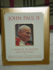 John Paul II  A Tribute in Words & Pictures by Monsignor Virgil Levi 1999 H/C