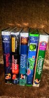 Lot 5 VHS Pinocchio.Princess Bride.How Grinch Stole Christmas+2 SEALED! NEW!