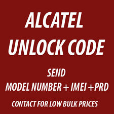 Alcatel Pixi 4 5045 UNLOCK CODE PERMANENT NETWORK UNLOCK PIN