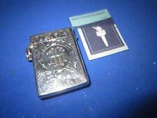Birmingham 1919 Silver Match Holder VESTA CASE corrispondenza sicuri Striker