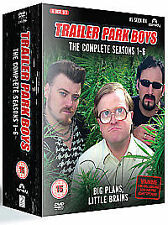 Trailer Park Boys Complete Seasons 1-6 Box Set DVD New UNSEALED MINOR BOX WEAR