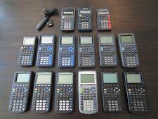 Lot of 15 Ti Calculators Scientific Graphing Ti 80 81 82 83 Plus 85 86 w/ Covers