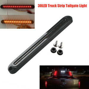 30LED Truck Strip Tailgate Light Reverse Brake Tail Flowing Turn Signal 120LM