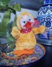 Vintage Rubber Face Plush Duck