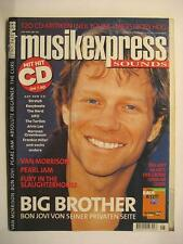 Music Express sounds 2000 # 6-Bon Jovi Van Morrison Pearl Jam Neil Young Miles
