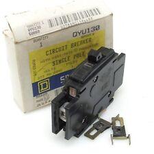 Square D Qyu115 Circuit Breaker 15A 1-pole