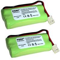 2-Pack HQRP Battery for VTech CS6319 CS6319-2 CS6319-3 CS6319-4 CS6319-5