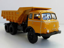 Henschel Hs 3-180 TAK 1956 1/43 Norev 820562 camión Hanomag AMARILLO dúmper