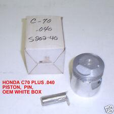 HONDA C70 PASSPORT WHITE BOX +.040 PISTON AND PIN