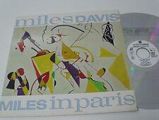 MILES DAVIS Miles in Paris - Japan Laser Disc LD - EX