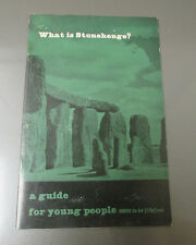 1970 WHAT IS STONEHENGE? Guide For Young People Booklet Reprint 20 pgs 5x8 VF-
