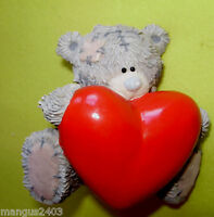 BOXED RARE ME TO YOU FIGURINE ALL MY LOVE LARGE RED HEART TO HEART BOXED