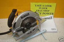 DEWALT DWE575K 1600W 190MM CIRCULAR SAW + CARRYING CASE 110V