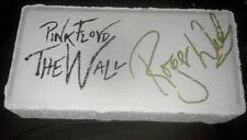 Pink floyd roger waters signed brick the wall w/coa