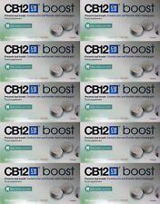 10 X CB12 Boost EUCALYPTUS SANS SUCRE Gum - Mauvaise Haleine blanchissant (Exp