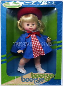 Vintage Bootsie-Bootsie Doll #8300 NRFB Mint Condition by Horsman 12 Inches