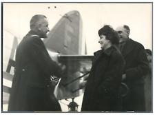 France, Amiral Platon, Secrétaire d'Etat aux Colonies à Vichy  Vintage silv