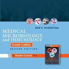 Medical Microbiology and Immunology Flash Cards by Ken S. Rosenthal (2016,...