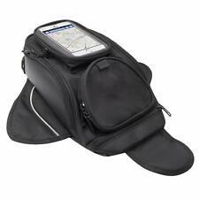 Motorcycle Tank Bag Waterproof Motorbike Magnetic Storage Oxford Premium Black