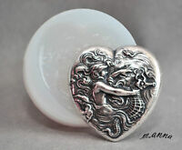 MERMAID HEART SEAHORSE SILICONE MOULD  cupcake fimo resin plaster chocolate mold