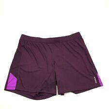 Reebok Running Shorts Men's Size XL Extra Large Purple Magenta Athleisure $55