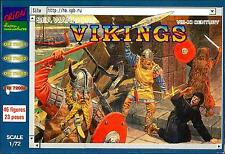 Orion Models 1/72 VIKINGS 8th-11th Century Figure Set