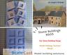 Stone Buildings Windows & Barred Windows Mould - NS05 - Model Railways OO Gauge