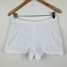 Country Road Womens Shorts Size 10 White Good Condition Short Length