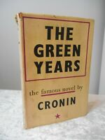 Vintage 1946 THE GREEN YEARS THE FAMOUS NOVEL BY A J CRONIN Book Victor GOLLANCZ