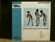 WAILIN' HOWIE CASEY AND THE SENIORS  Let's Twist   LP   Rock and Roll   GREAT !