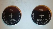 (3V) Brand New, Expires 2026 Two (2) Fdk Cr2016 Watch Batteries