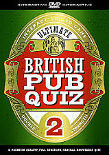 The Ultimate British Pub Quiz 2 - Interactive DVD Game [Interactive DVD], Very G