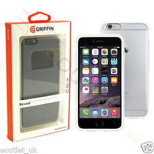 Griffin Reveal Hard Case Cover for iPhone 6 Plus 6s Plus NEW Clear/White GB40031